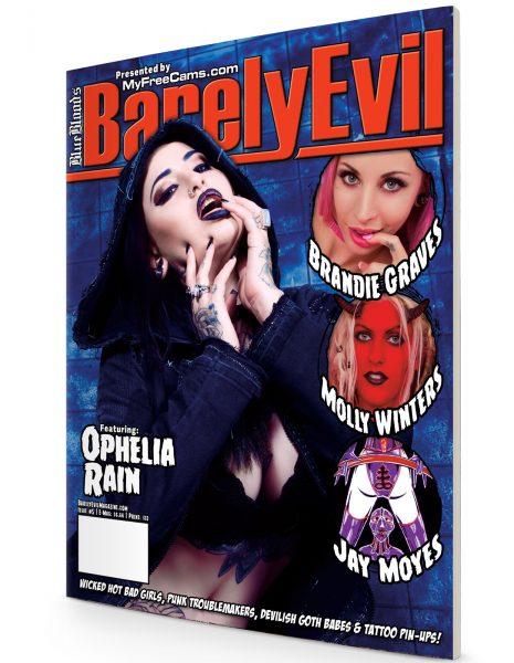Barely Evil #5 Ophelia Rain magazine cover